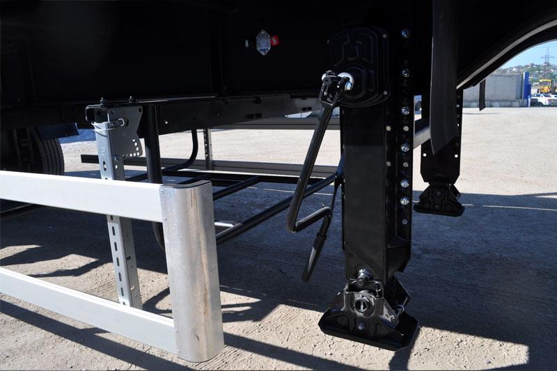 Телескопическое опорное устройство BPW, двухсекционное