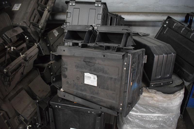 Ящик инструментальный Камаз 4308 с откатниками