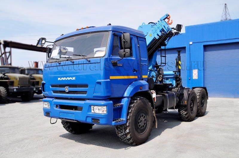 Седельный тягач Камаз 53504-6030-46 с КМУ ИМ-180