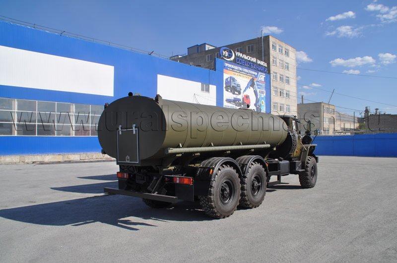Пищевая автоцистерна АЦПТ-10 Урал 4320-1951-60 (МВД)