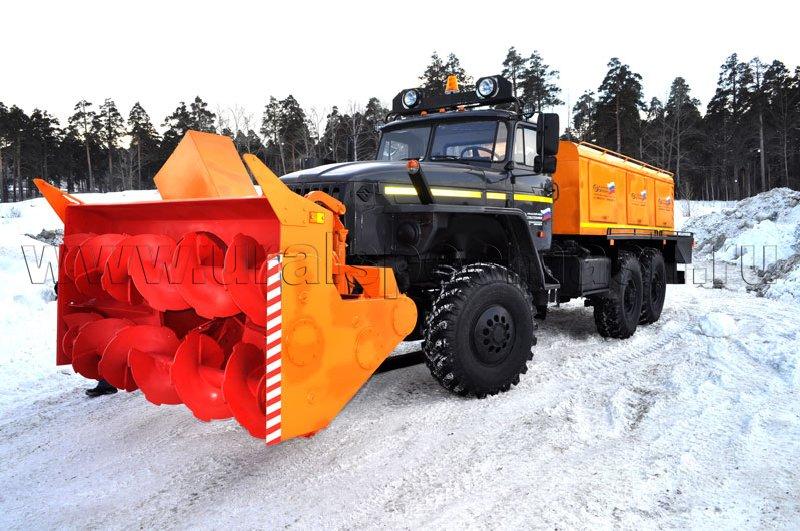 Шнекороторный снегоочиститель Урал 4320-1151-61