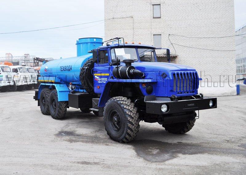 Автоцистерна для перевозки технической воды АЦВ-10 Урал 4320-1951-60
