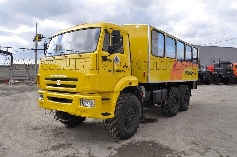 Вахтовый автобус Камаз - РОСНЕФТЬ
