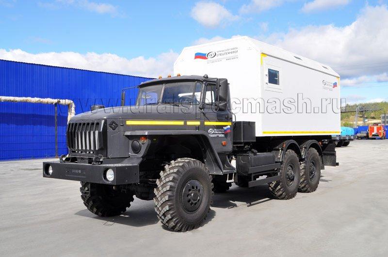 ПАРМ Урал 4320-1151-61 + 6 чел.