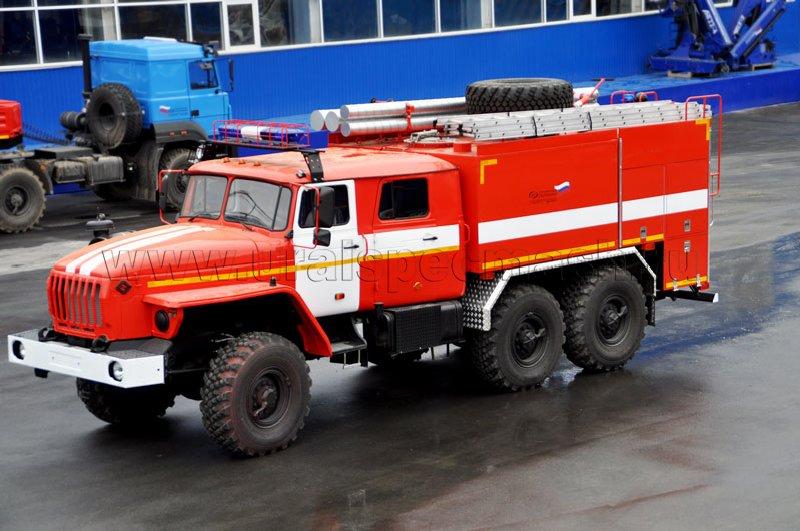 Пожарная автоцистерна – АЦ-6,0-40 Урал 5557-1112-60М