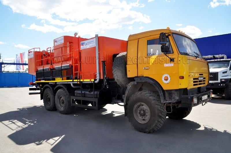 Цементировочно-смесительный агрегат Камаз 43118 от УЗСТ