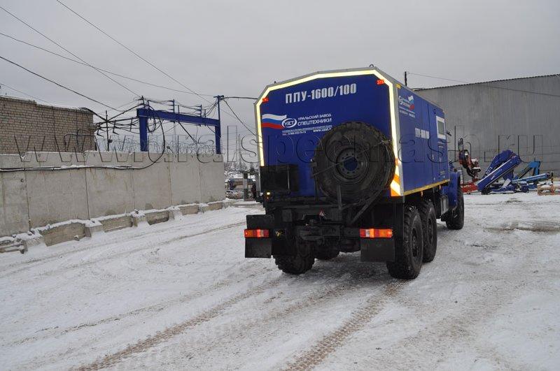 ППУ 1600/100 на шасси Урал-NEXT