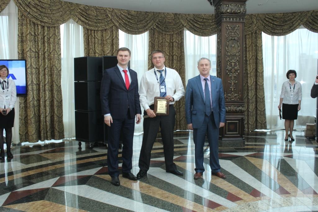 Награда в номинации «Лидер по продажам» от ОАО АЗ «Урал» за 2015 год