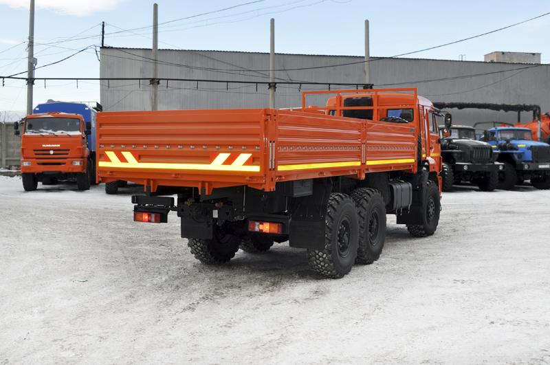Бортовой автомобиль Камаз 43118-3027-46