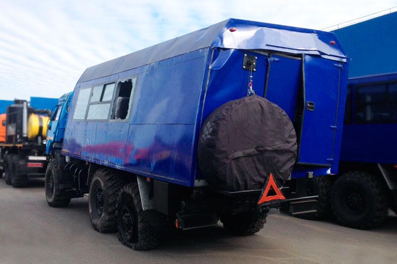 Капитальный ремонт вахтового автобуса Камаз