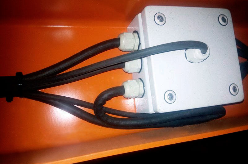 Усиленная электропроводка