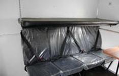 Интерьер пассажирского отсека передвижной мастерской