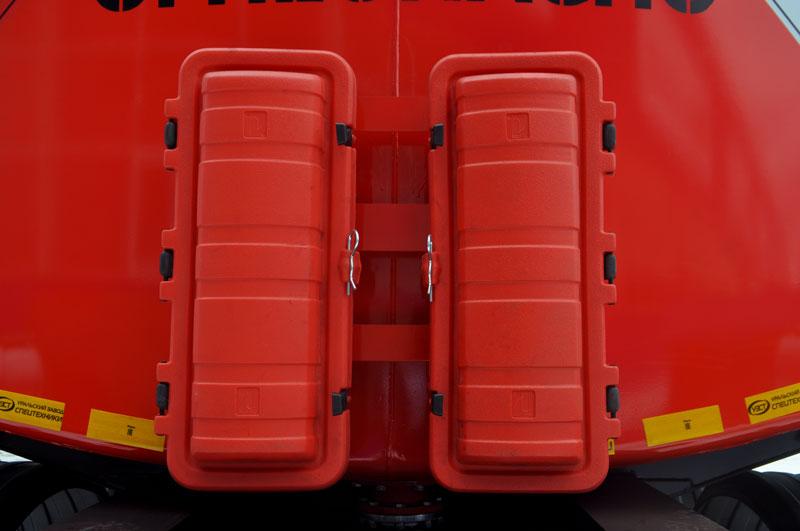 Огнетушители ОП-6 – 2 шт. с укладкой в пластиковые контейнеры