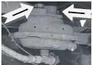 Крепление тормозных камер в автомобиле Камаз