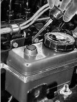 Бачок насоса гидроусилителя РУ автомобиля Камаз (вариант 2)