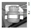 Бачок главного цилиндра привода сцепления на автомобилях Камаз
