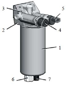 Фильтр грубой очистки топлива ф. СF