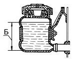 Уровень жидкости в бачке главного цилиндра привода сцепления на автомобилях Камаз