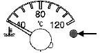 Сигнализатор аварийной температуры охлаждения