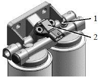 Фильтр тонкой очистки топлива ф. UFI или ф. МАNN-HUММЕL