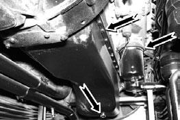 Проверка состояния и герметичности приборов и трубопроводов смазочной системы на автомобилях Камаз