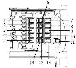 Реле дворников камаз 65115