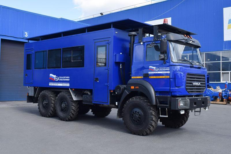 Вахтовые автобусы Уральского Завода Спецтехники — на шасси Урал