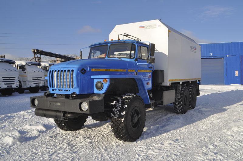 Автомобиль для перевозки взрывчатых веществ Урал 4320-1112-61Е5