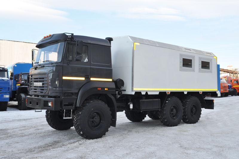 Передвижная исследовательская лаборатория Урал 4320-4151-81Е5