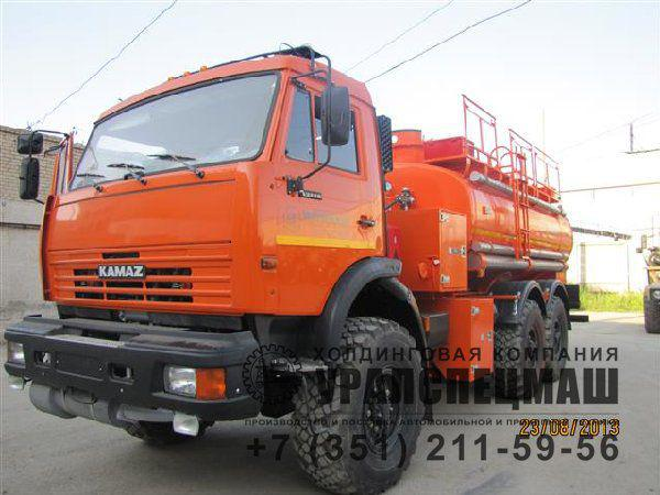 Автотопливомаслозаправщик АТМЗ-10 Камаз 43118-10