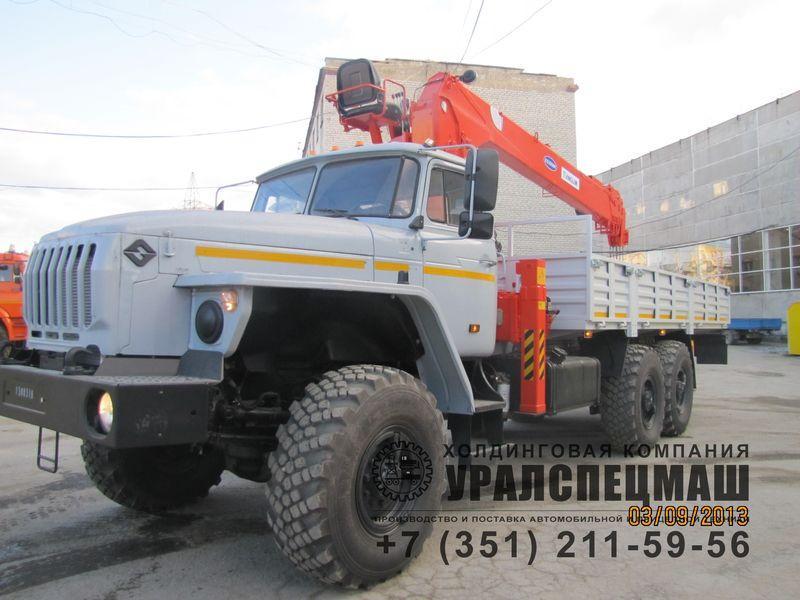 Бортовой Урал 4320-1912-60Е5 с КМУ Kanglim KS 1056