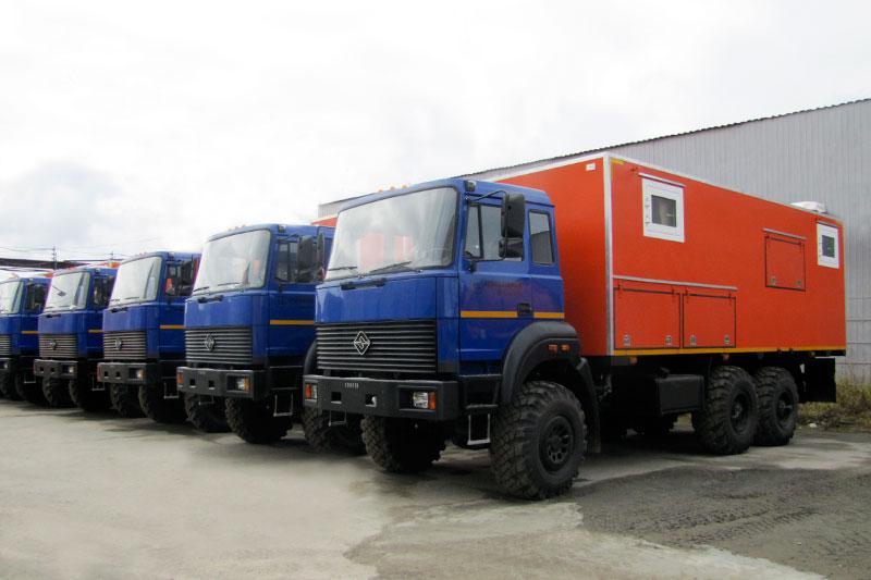 Передвижная сварочная лаборатория Урал 4320-4151-81Е5