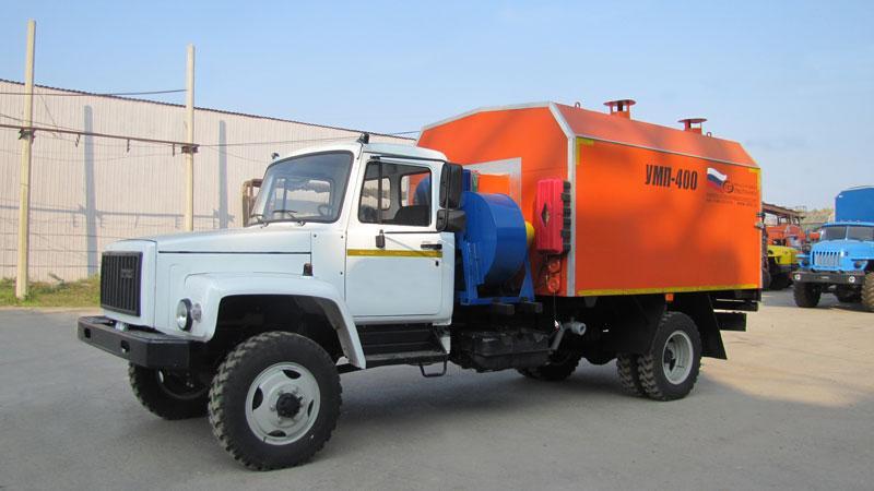 УМП-400 на шасси ГАЗ 33086