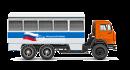 Вахтовые и грузопассажирские автобусы ВА и ГПА на шасси Камаз