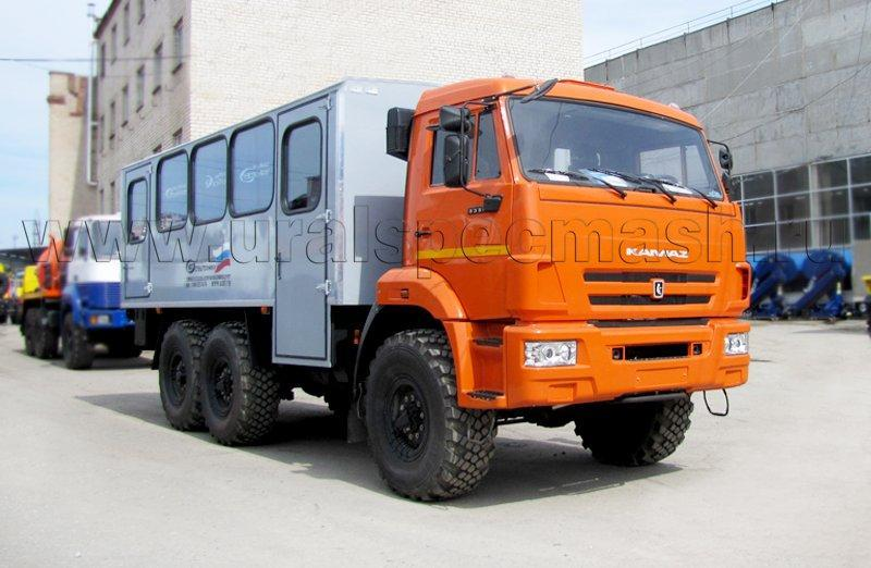 Вахтовый автобус Камаз 5350-3061-66(D5) – 26+2 места