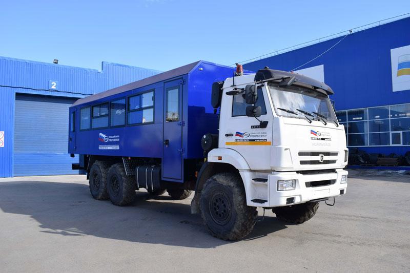 Вахтовый автобус Камаз 43118-3999-48(А5) – 32+2 места
