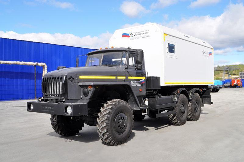 ПАРМ Урал 4320-1112-61Е5 + 3 чел.