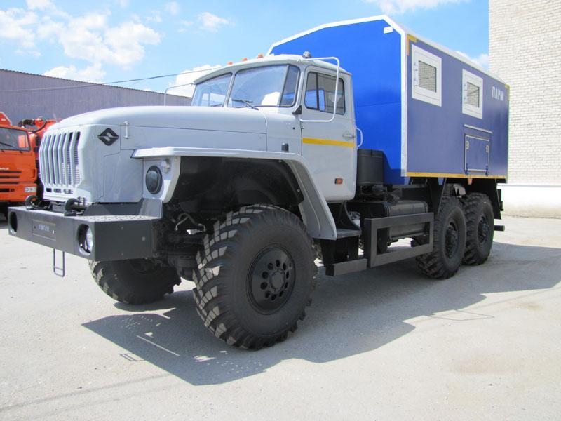ПАРМ Урал 5557-1112-60Е5 + 6 чел. (г-р EG-202)
