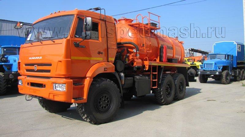 АКН-10 Камаз 43118-3049-50 (ОД, КО-505, сп.м.)