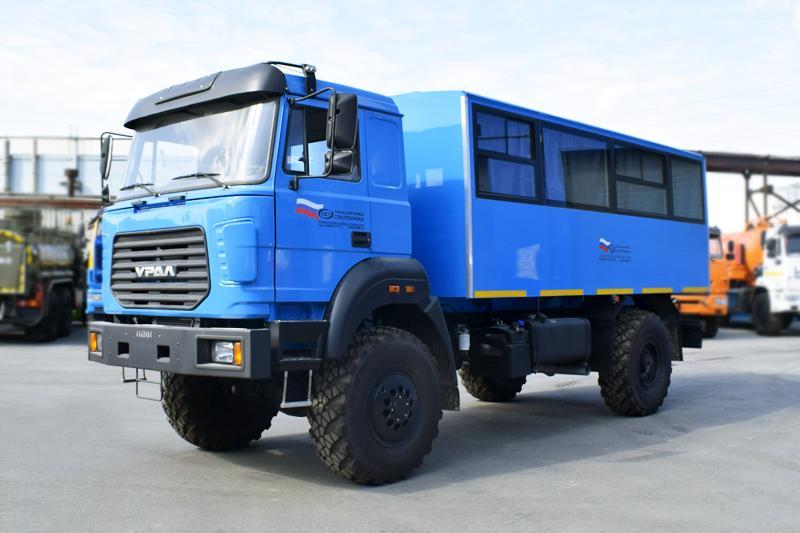 Вахтовый автобус Урал 32552-3013-79Е5 – 20+2 места