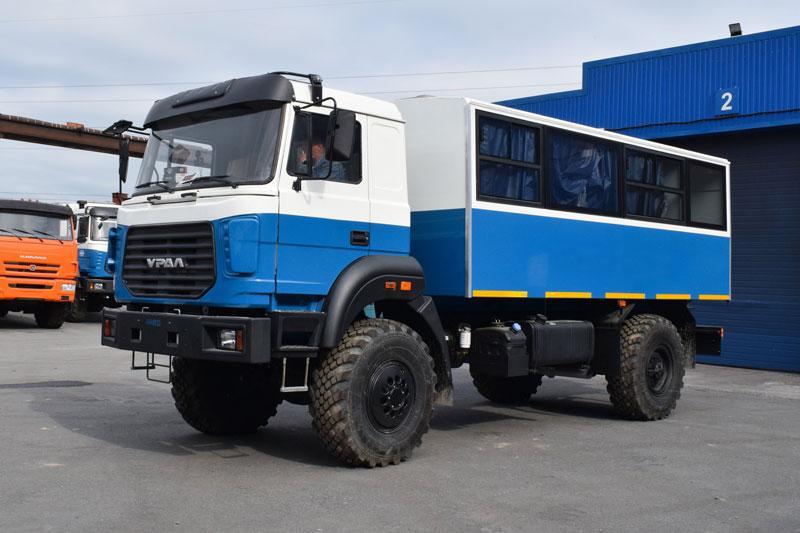 Вахтовый автобус Урал 32552-3020-79Е5 – 14+2 места