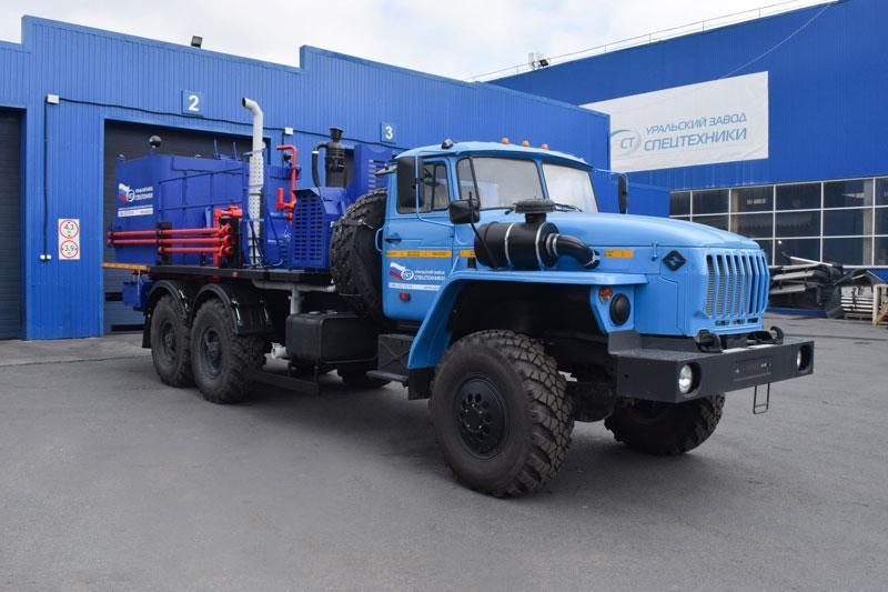 Цементировочный агрегат ЦА-32 УЗСТ-006-02 Урал 4320 (поршневой насос)