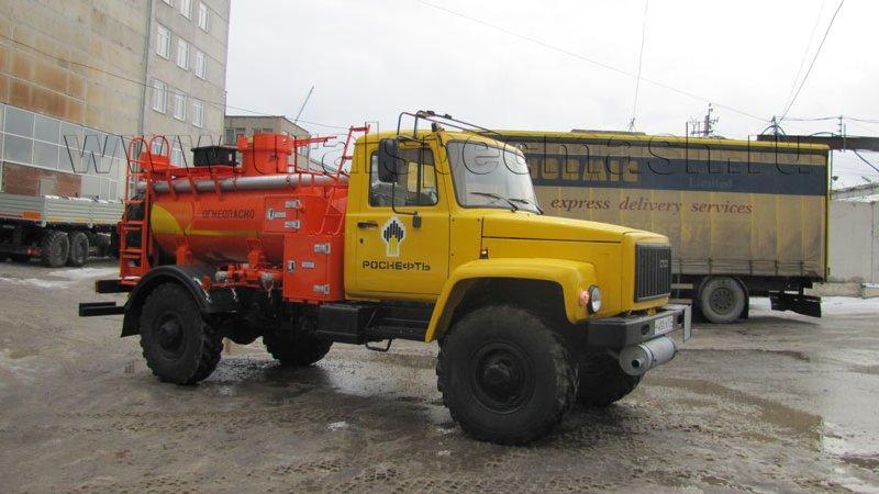 Автотопливомаслозаправщик АТМЗ-1,8 ГАЗ 33081