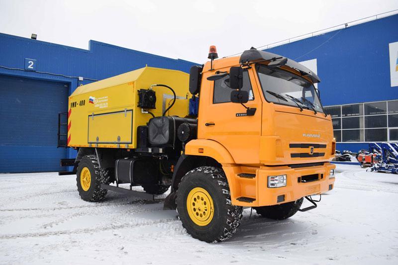 УМП-400 Камаз 43502-3036-66(D5) (004, аэродромный)