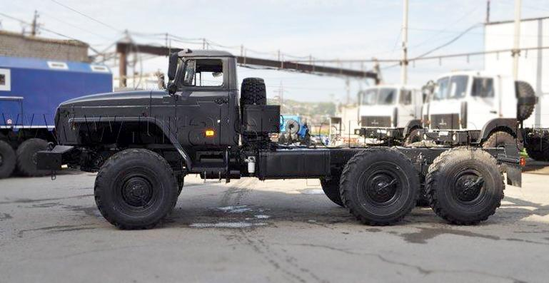 Шасси Урал 43204