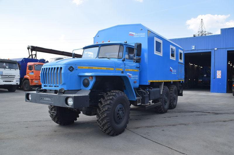 Транспортно-бытовая машина Урал 4320-1912-72Е5