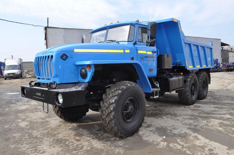 Самосвал Урал 58312А