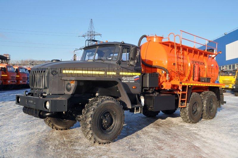 Агрегат для сбора газового конденсата АКН-10 Урал 4320-1912-60