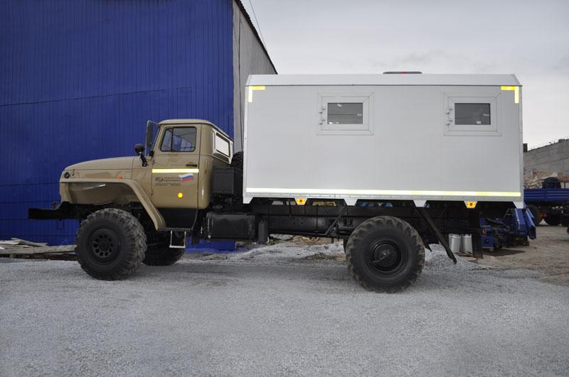 Фургон общего назначения Урал 43206