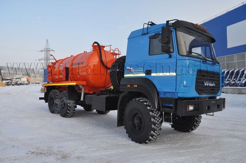 АКН-10 Урал 4320-4972-80Е5 (ОД, ВК-6, сп.м.)